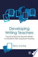 Developing Writing Teachers