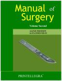 Manual of Surgery Volume 2