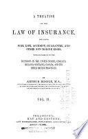 A Treatise on the Law of Insurance Book