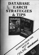Database Search Strategies Tips
