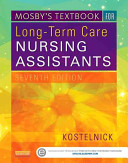 Mosby S Textbook For Long Term Care Nursing Assistants