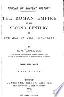 The Roman Empire of the Second Century  Or  The Age of the Antonines