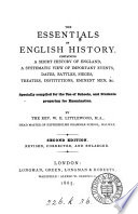The essentials of English history