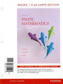 Finite Mathematics & Its Applications, Books a la Carte Edition Plus New Mymathlab with Pearson Etext with Pearson Etext -- Access Card Package