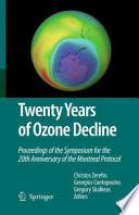 Twenty Years of Ozone Decline