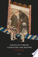 Essays on Turkish Literature and History Book PDF