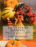 Daily Food Journal Book PDF