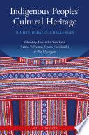 Indigenous Peoples  Cultural Heritage