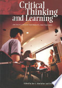 Critical Thinking And Learning Book PDF