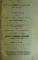 Catalogue Of The Private Library Of The Late Ezra Wilkinson