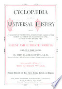Cyclopædia of Universal History: The modern world. 2 pt