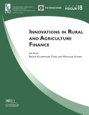 Innovations in Rural and Agriculture Finance Pdf/ePub eBook