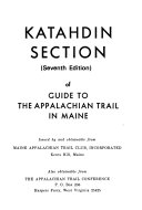 Katahdin Section Of Guide To The Appalachian Trail In Maine
