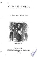 St  Ronan s Well Book