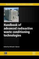Handbook of Advanced Radioactive Waste Conditioning Technologies