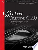 Effective Objective C 2 0 Book