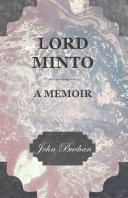 Lord Minto, A Memoir Pdf/ePub eBook