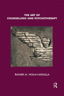 The Art of Counselling and Psychotherapy