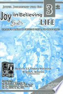 Joyful Journeying With God Joy In Believing God S Life 3 Teacher S Manual1st Ed 2005