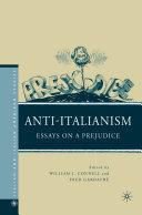 Anti-Italianism Pdf/ePub eBook
