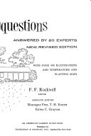 10 000 Garden Questions Answered by 20 Experts