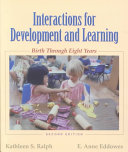 Interactions For Development And Learning