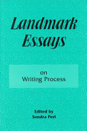 Landmark Essays on Writing Process