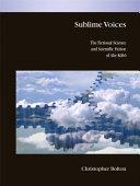 Sublime Voices