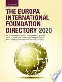 The Europa International Foundation Directory 2020