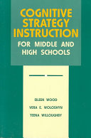 Cognitive Strategy Instruction for Middle and High Schools