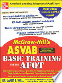 McGraw Hill s ASVAB Basic Training for the AFQT