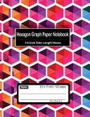 Hexagon Graph Paper Notebook   1 4 Inch Side Length Hexes