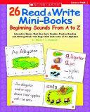 26 Read & Write Mini-Books