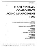 Plant Systems components Aging Management  1995 Book
