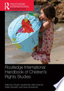 Routledge International Handbook Of Children S Rights Studies