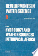 Hydrology and Water Resources in Tropical Africa