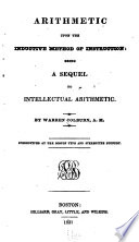 Arithmetic Upon the Inductive Method of Instruction