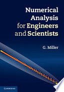 Numerical Analysis for Engineers and Scientists Book