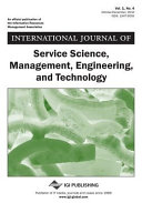 International Journal of Service Science  Management  Engineering  and Technology  Vol  1  No  4