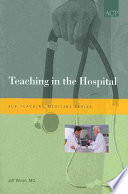 Teaching in the Hospital Book