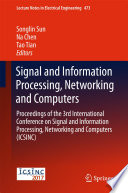 Signal and Information Processing  Networking and Computers