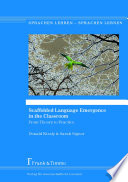 Scaffolded Language Emergence in the Classroom