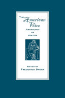 The American Voice Anthology of Poetry [Pdf/ePub] eBook
