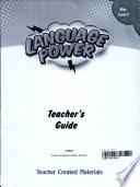 Language Power: Grades 6-8 Level C Teacher's Guide