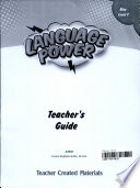 Language Power Grades 6 8 Level C Teacher S Guide