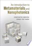 An Introduction to Metamaterials and Nanophotonics