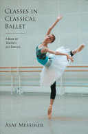 Classes in Classical Ballet Book