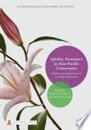 Quality Assurance in Asia Pacific Universities Book