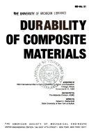 Durability of Composite Materials