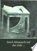 Insel-Almanach auf das Jahr ...